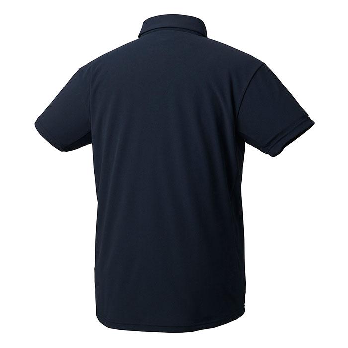 デサント トレーニングウェア ポロシャツ 吸汗速乾 半袖 ネイビー UVカット DESCENTE DMMRJA70