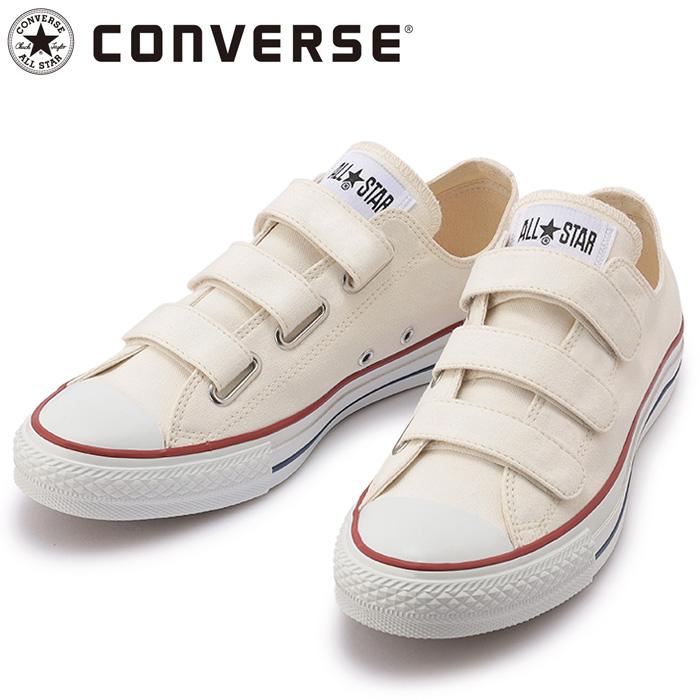 コンバース シューズ オールスター V-3 OX スニーカー ホワイト/トリコ 31304820