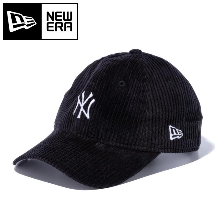 ニューエラ キャップ 帽子 ニューヨーク ヤンキース コーデュロイ ブラック NEWERA 12854076