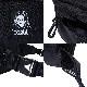 ニューエラ コラボ X-girl ウエストバッグ 3L ボディバッグ フェイスロゴ エクスプローラー 12860539