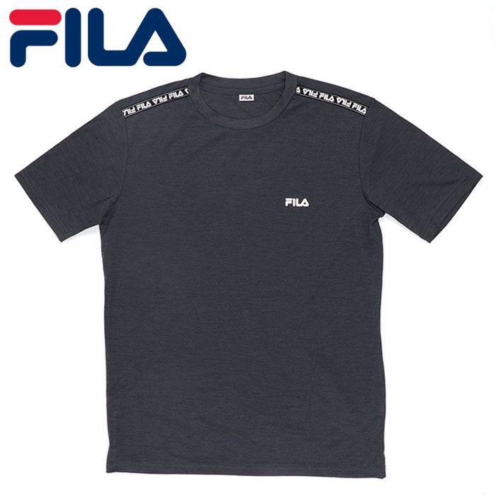 フィラ Tシャツ 半袖 メンズ フィラ UV カジュアル 水陸両用 アウトドア ブラック FILA 420272
