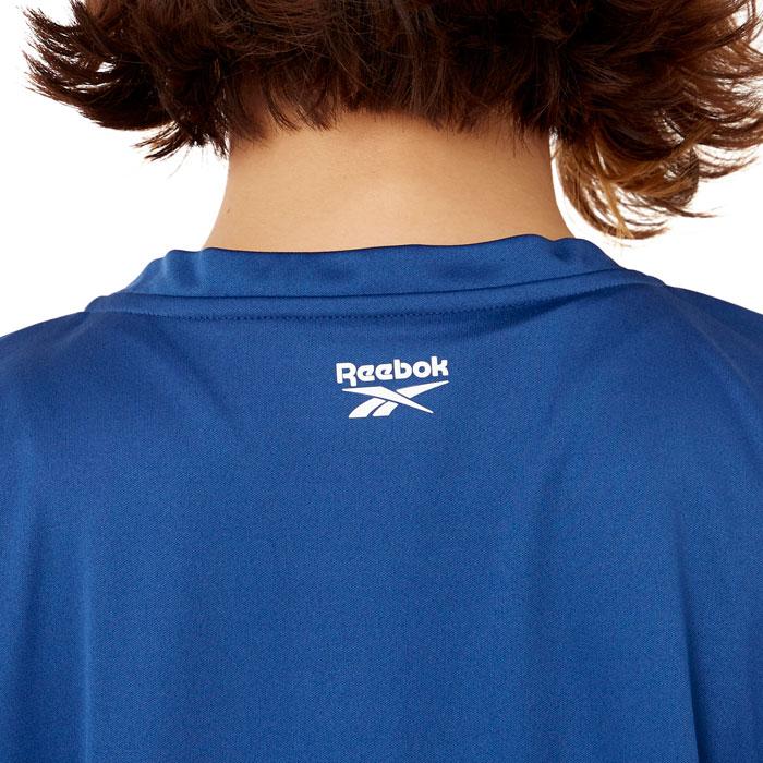 リーボック 半袖 Tシャツ レディース アウトドア 水陸両用 UVカット スポーツウェア ネイビー 311913