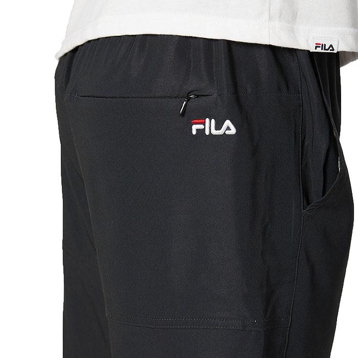 フィラ メンズ 水着 トランクス サーフパンツ ハーフパンツ 水陸両用 ロゴ FILA 420233 黒