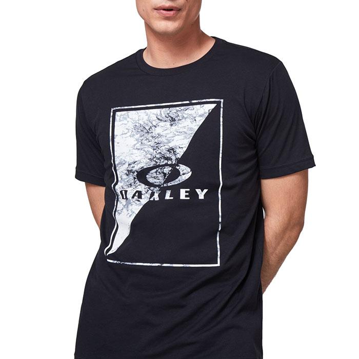 オークリー 半袖 Tシャツ メンズ アウトドア スポーツ 吸汗速乾 ブラック OAKLEY FOA401423