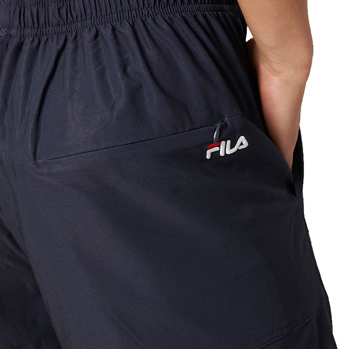 サーフパンツ フィラ メンズ水着 サーフトランクス ロゴ ストレッチ素材 420233 ネイビー