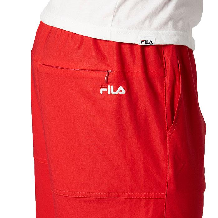 FILA サーフパンツ メンズ 水着 ハーフパンツ 水陸両用 トランクス フィラ 420233 レッド