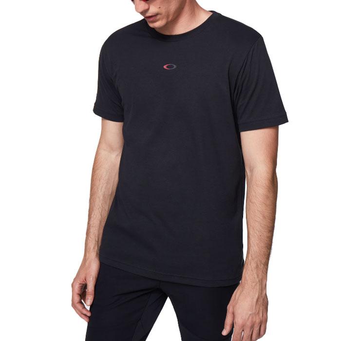 オークリー アウトドア スポーツ 半袖 Tシャツ メンズ 吸汗速乾 ブラック OAKLEY FOA401424