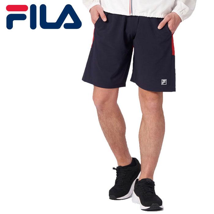 FILA トランクス サーフパンツ メンズ 水着 ハーフパンツ 水陸両用 フィラ 420234 ネイビー