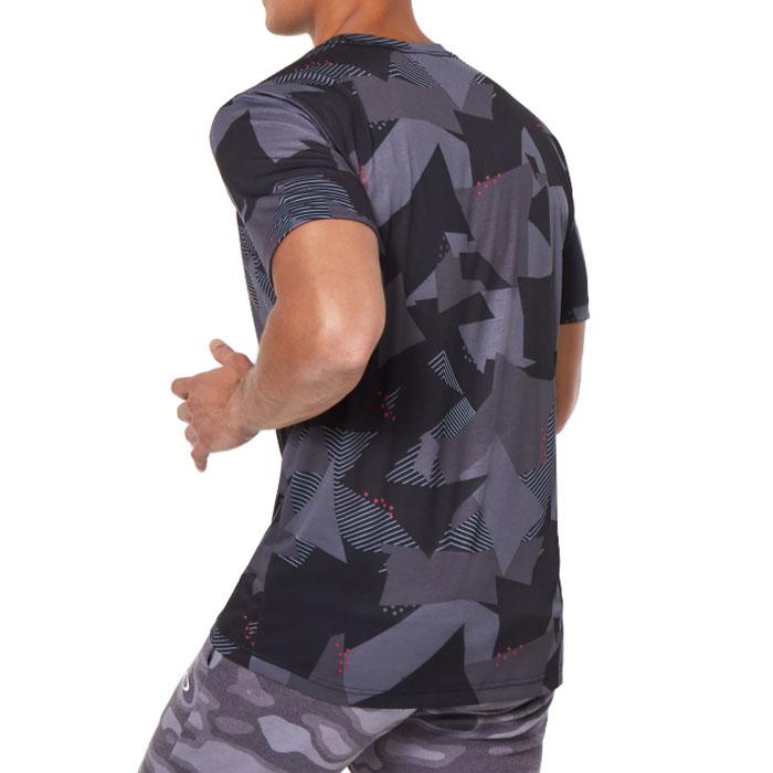 オークリー スポーツ 半袖 Tシャツ メンズ 吸汗速乾 ブラック ロゴ アウトドア OAKLEY FOA401589
