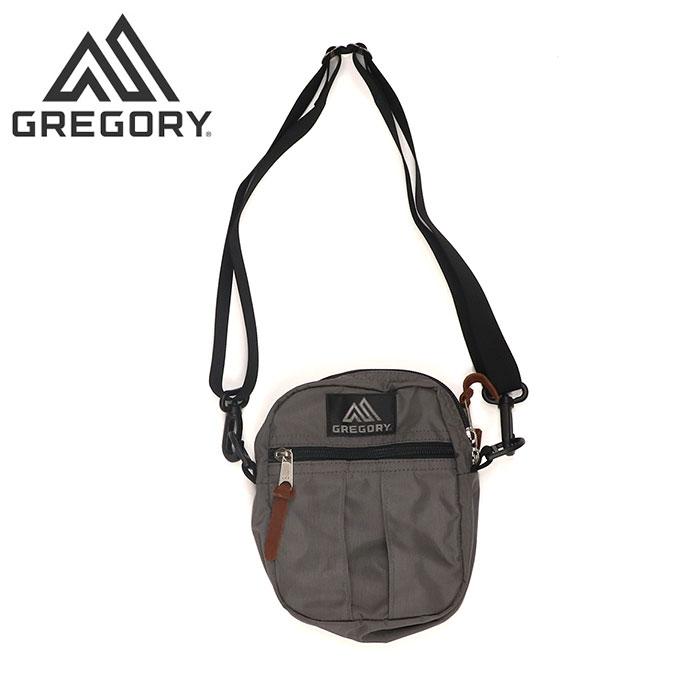 グレゴリー ショルダーバッグ クイックポケットM ポーチ カジュアル 2L チャコール GREGORY 654591174