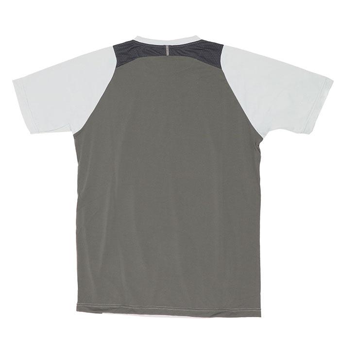 オークリー スポーツ メンズ 半袖 Tシャツ トレーニングウェア グレー 吸汗速乾 OAKLEY FOA401653