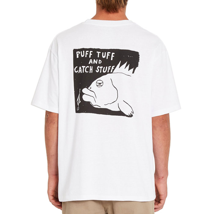 ボルコム プリントTシャツ メンズ 半袖 ルーズフィット ストリート グラフィック VOLCOM A4312121