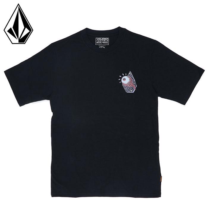 ボルコム 半袖 Tシャツ メンズ FREAK CITY デザイン イラストレーター ストリート VOLCOM AF212108