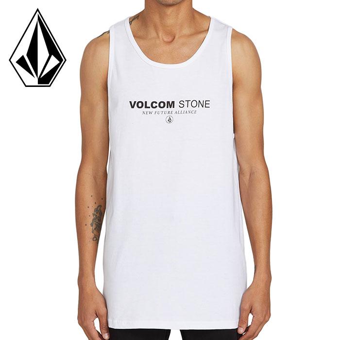 ボルコム メンズ ノースリーブ タンクトップ Tシャツ ストリート CLOCK WORKER TANK VOLCOM A4512000