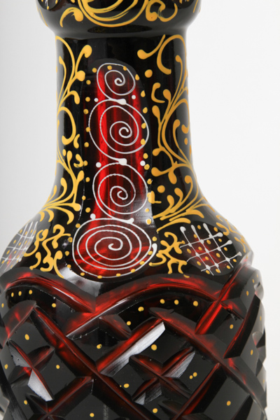 "【NEW】Regal Hookah ""Prince""V3 3DGlass Vase リーガルフーカ""プリンス""3Dグラス 59cm(ホワイト)"