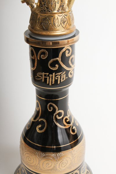 "【Uptail別注Limited】Shika V4.5 ""IRH"" Limited Hookah シーカ""IRH""Black Vase65cm"