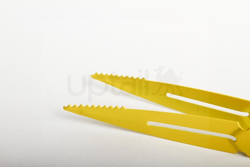 Perican stainless steel Tong ペリカンステンレストング(Yellow)23cm