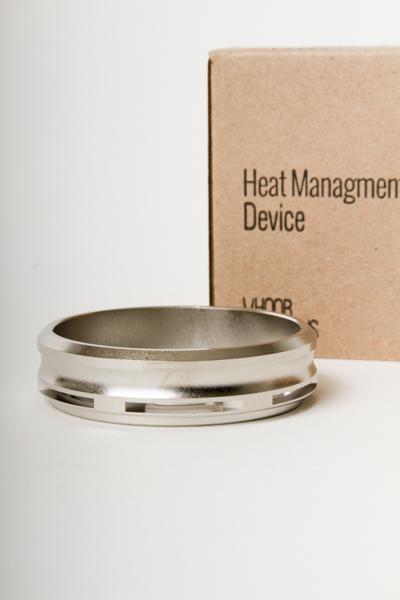"【SALE】HOOB HOOKAHS ""Classic Pyro   Heat Management Device (シルバー)"