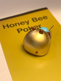 【New】UPTAIL Honey Bee Porker アップテイルオリジナルハニービーポーカー3.5cm