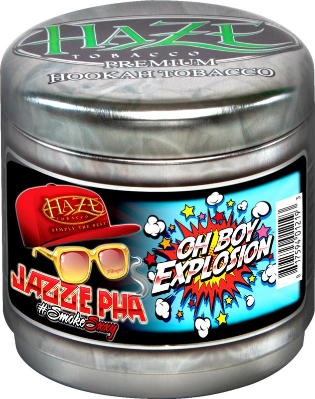 HAZE Tobacco JAZZE PHA OHBOY EXPLOSION(スパイシースイートピーチ)100g