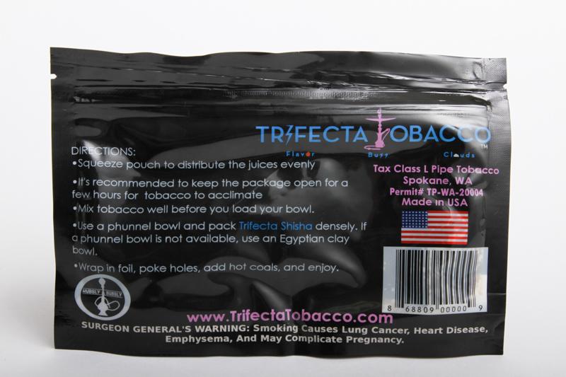 Trifecta Tobacco Mediterranean Mint  (モロッカンミント) 100g