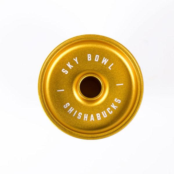 "【NEW】SHISAHABUCKS ""Sky Bowl Mini""シーシャバックススカイボウルミニ(Gold)"