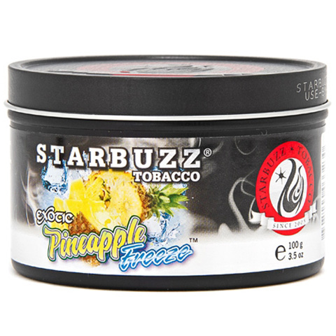 "Starbuzz BOLD Tobacco ""Pineapple Freeze""スターバズボールドタバコ""パイナップルフリーズ""100g"