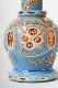 """【NEW】Regal Hookah """"Queen""""V3 3D Glass Vase (スカイブルー) リーガルフーカ クイーン3D Glass  72cm(ホワイト)"""