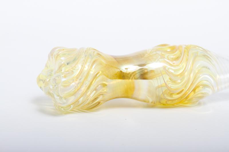 "Hand made Glass Mouthpiece ""IZUMO""ハンドメイドグラスマウスピース""出雲 ""(スイッチバック)"