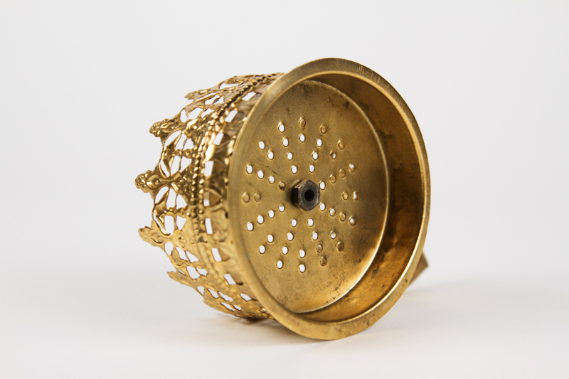 "【NEW】Omar Hookah"" Heat Management ""(Gold)オマールフーカ""ヒートマネージメント""(ゴールド)直径9.5cm"
