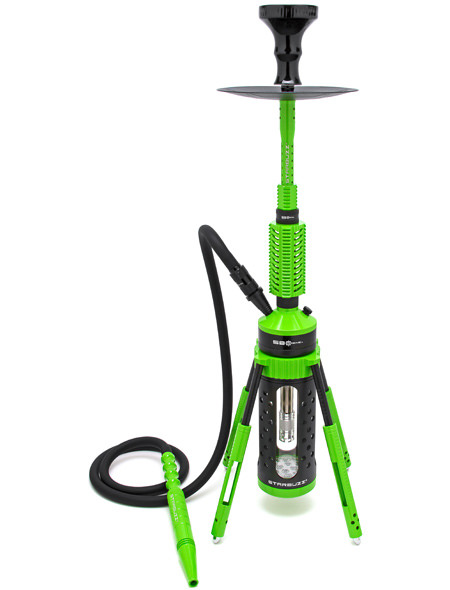 【NEW】Starbuzz Carbine (1 hose) Hookah スターバズ カービンフーカ80cm(Zombie Green)