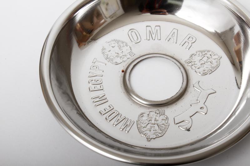 OMAR TRAY オマールステンレスチャコールトレイ 19cm