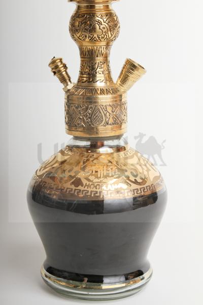 "【NEW】Shika Hookah ""Dracas""(Gold)40cm"