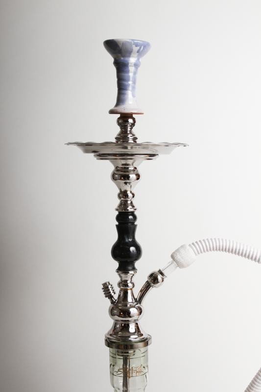 【NEW】Shika Kahman Stanless (Mid) Hookah シーカカーマンステンレス(ブラック) 80cm