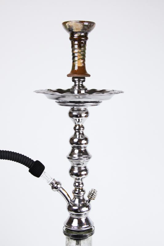 【NEW】Shika Egyptian Stanless (Mid) Hookah シーカエジプシャンステンレス(ミディアム) 80cm