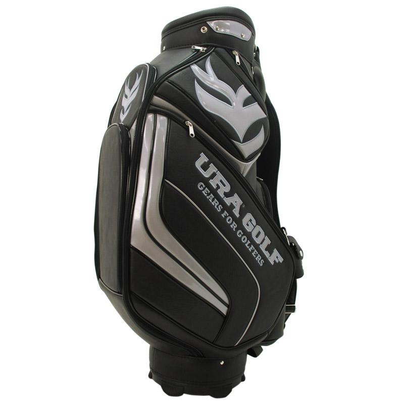 URAキャディバッグ 2015年モデル ブラック/シルバー