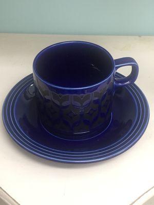 """Hornsea """"Heirloom Blue""""コーヒーカップ"""