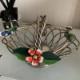 花の鉄かご