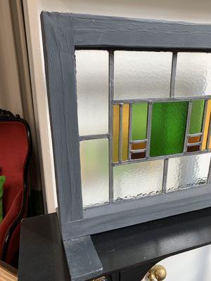 リメイクされた古ガラスの置物