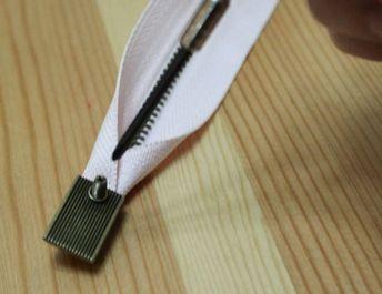 ◆Fa-9◆バッグのファスナーに取り付けて!ファスナー用金具 ネジタイプ10個セット【梱包スペース2】