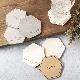 【名入れ コースター シンプル】 珪藻土・木製