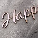 《新商品》ミラーアクリル レターバナー【HappyBirthday】ピンクゴールド・ゴールド