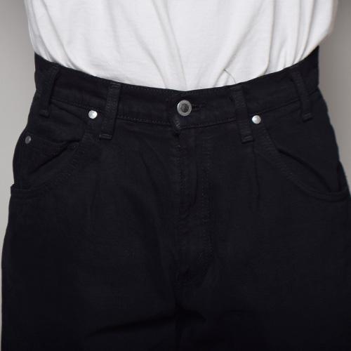 ・Levi's Silver Tab×US/Over Dyed Loose Fit Denim Shorts(リーバイスシルバータブ×アス デニムショートパンツ)スーパーブラック [z-2968]