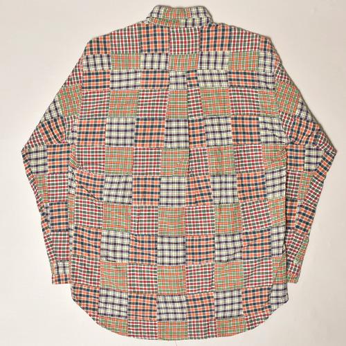 ・J.Crew/L/S Patchwork Shirt(ジェイクルー パッチワークシャツ)サイズS [z-3389]