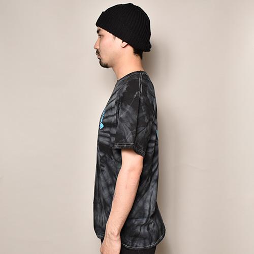 Santa Cruz/Screaming Hand S/S T-Shirt(サンタクルーズ Tシャツ)ブラックタイダイ [a-3654]