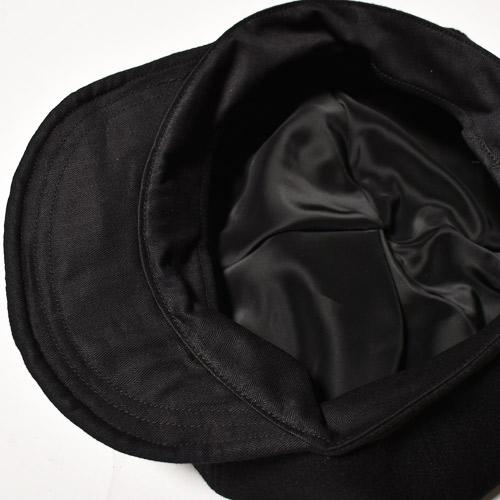 US Original/Big Apple Wool Casquette(USオリジナル ウールキャスケット)ブラック [a-4158]