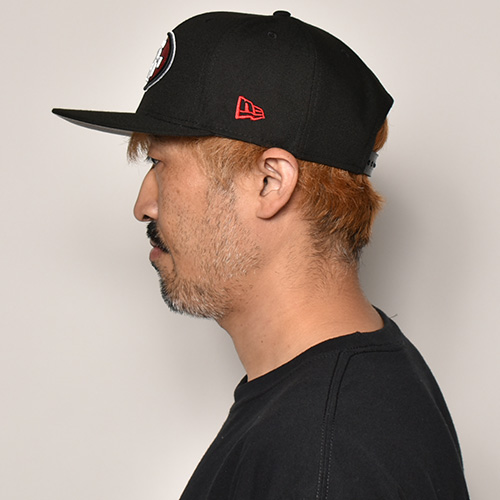 New Era/9Fifty Snap Back Cap/San Francisco 49ers(ニューエラ キャップ)ブラック [a-4076]