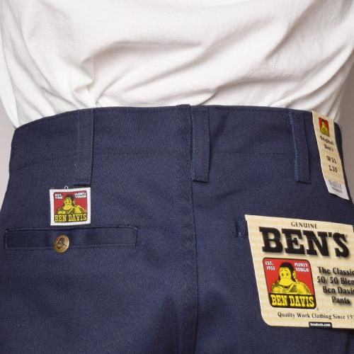 Ben Davis/Original Ben's Work Pants(ベンデイビス ワークパンツ)ネイビー [a-1600]