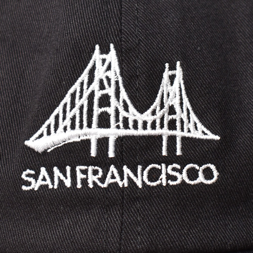San Francisco Souvenir Cap(SFスーベニアキャップ)ブラック [a-5303]