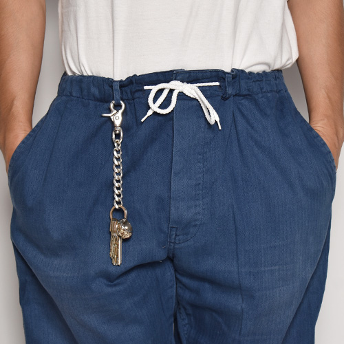 ・US Customized/EU Work Easy Pants(アスカスタマイズ EUワークイージーパンツ)ネイビーブルー/サイズW330-35 [z-5630]
